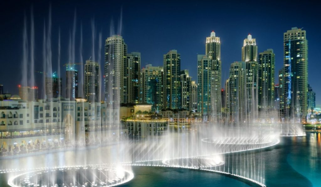 The Dubai Fountains will play a new song from a Star is Born