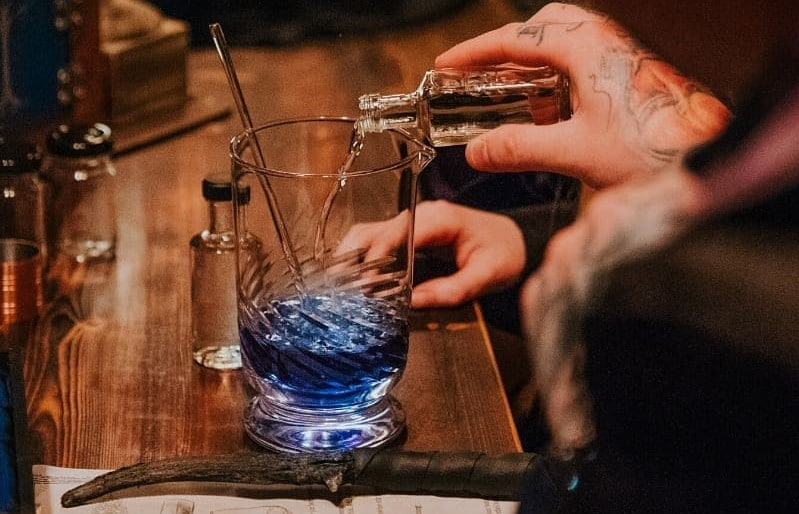 Cast Spells And Drink Cocktails At This Wizard-Themed Dublin Bar •The Cauldron Pub