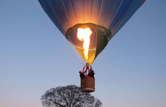 You Can Sip Champagne Aboard A Hot Air Balloon With Amazing Views Of Ireland