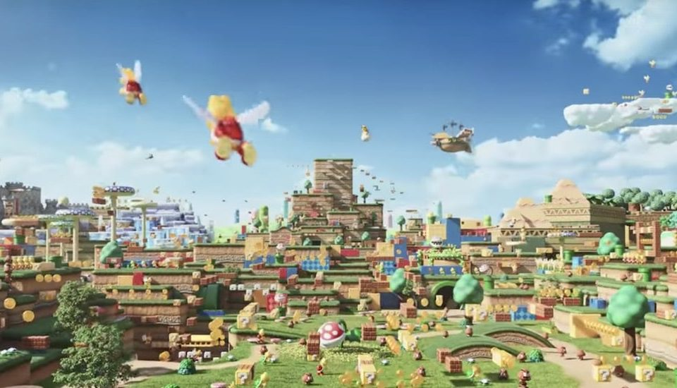 A Real Life Super Nintendo World (With Mario Kart!) Is Opening This Summer