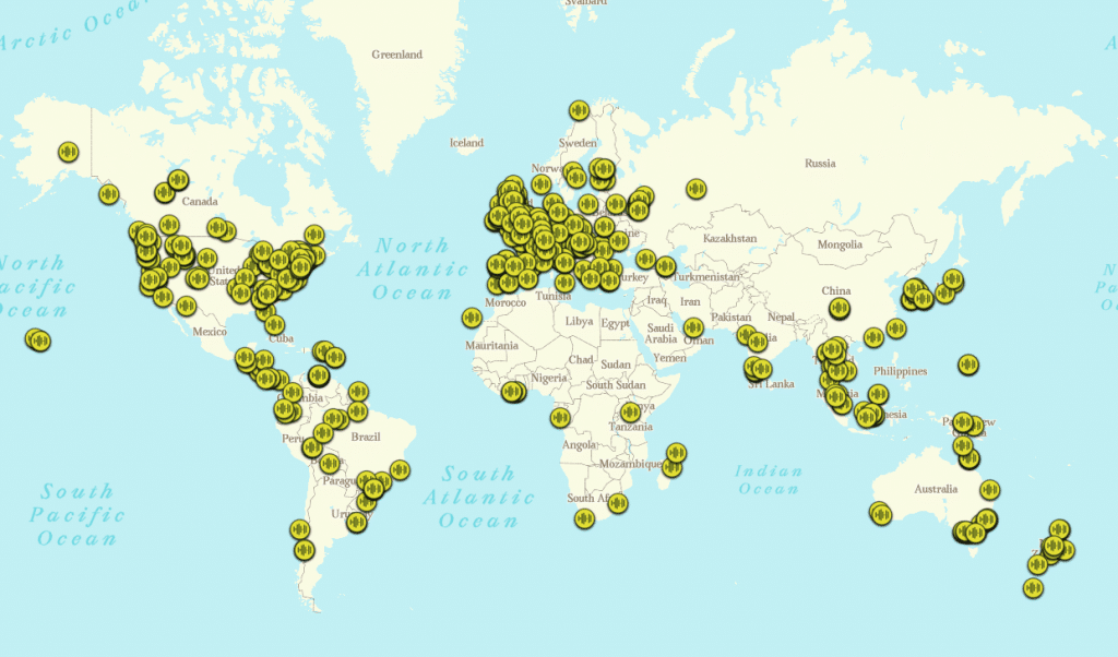 This Worldwide Map Of Forest Sounds Has Calmed And Inspired Millions Of Listeners