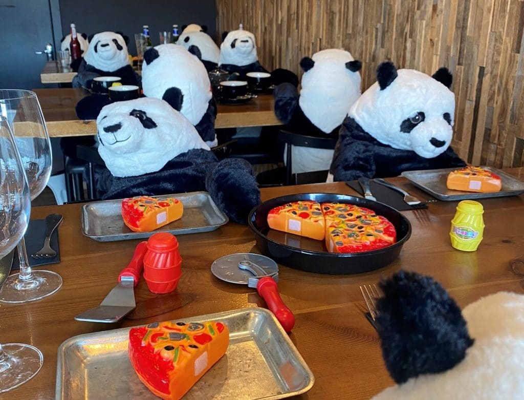 This Irish Restaurant Has Filled Their Empty Tables With Panda Diners And We Are So Here For It