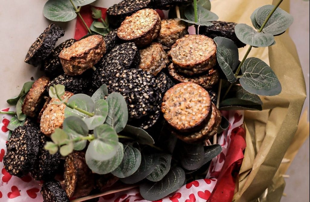You Can Now Gift That Special Someone A Black Pudding Bouquet For Valentine's Day