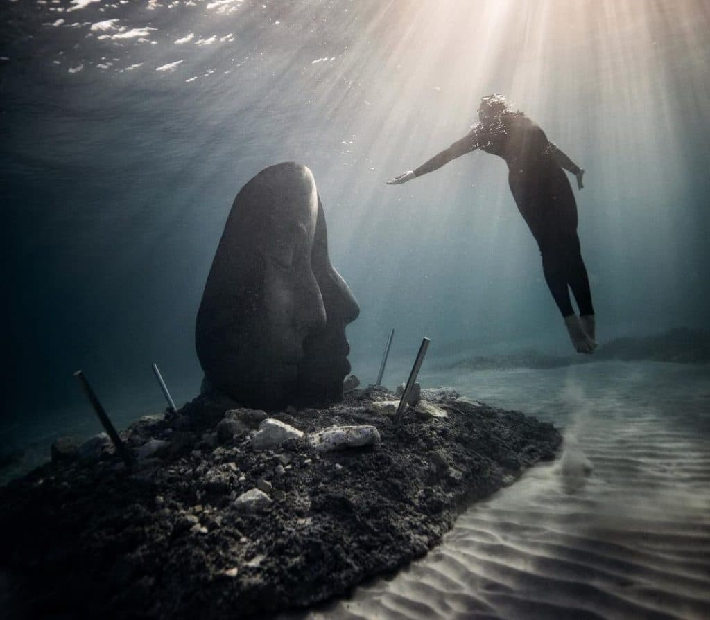 A Magical Underwater Museum Has Opened In France And We're Absolutely Desperate To Swim There
