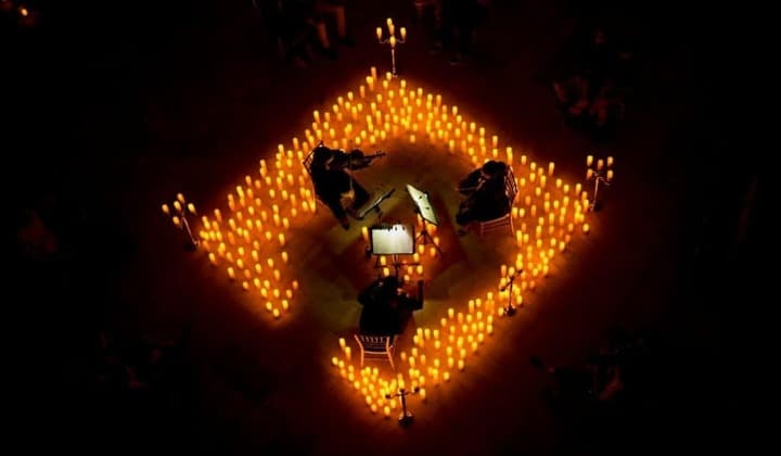 Experience Magical Candlelight Concerts At This Stunning Open-Air Dublin Space