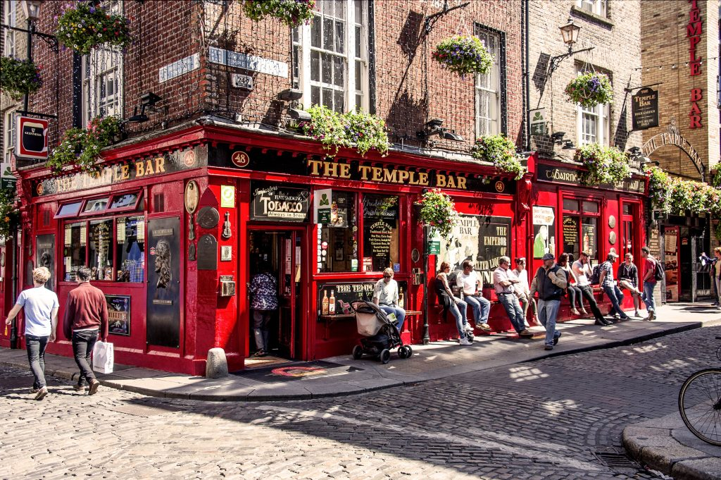 Plans Are In Place For A 3,000 Seat Outdoor Dining Space In Temple Bar