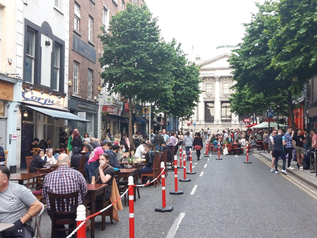 Traffic-Free Zones In Capel Street And Parliament Street Set To Live On