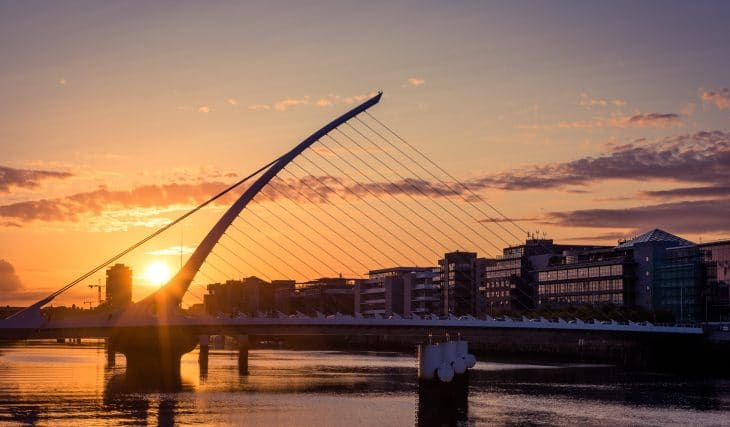 Tonight Will Be Dublin's Last 7pm Sunset Until March 2022