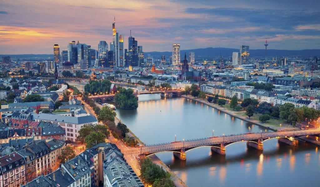 Die viele Namen Frankfurts in Europa