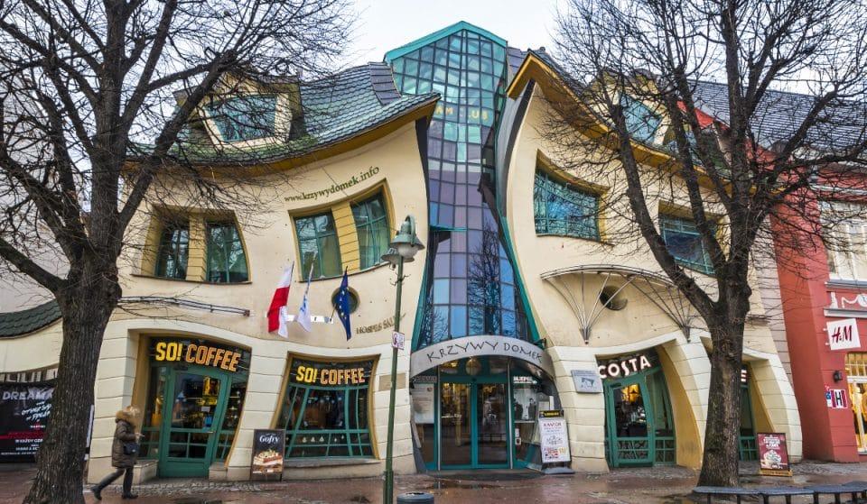 Das Krumme Häuschen: eines der bizarrsten Bauwerke der Welt