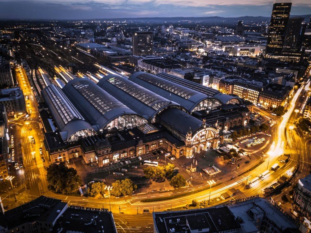 Fernbahntunnel wird unter dem Frankfurter Hauptbahnhof gebaut