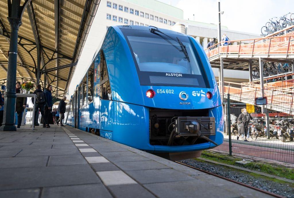 Frankfurt wird über die weltweit größte Wasserstoff-Zugflotte verfügen