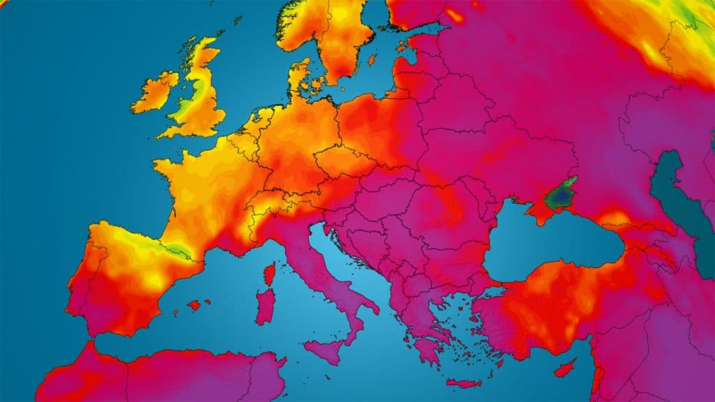 Dieser Sommer war der Heißeste in der Geschichte Europas
