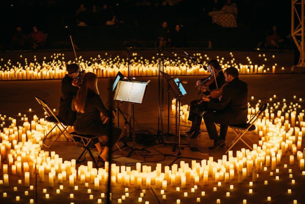 Frankfurt wird von den magischen Konzerten im Kerzenlicht verzaubert