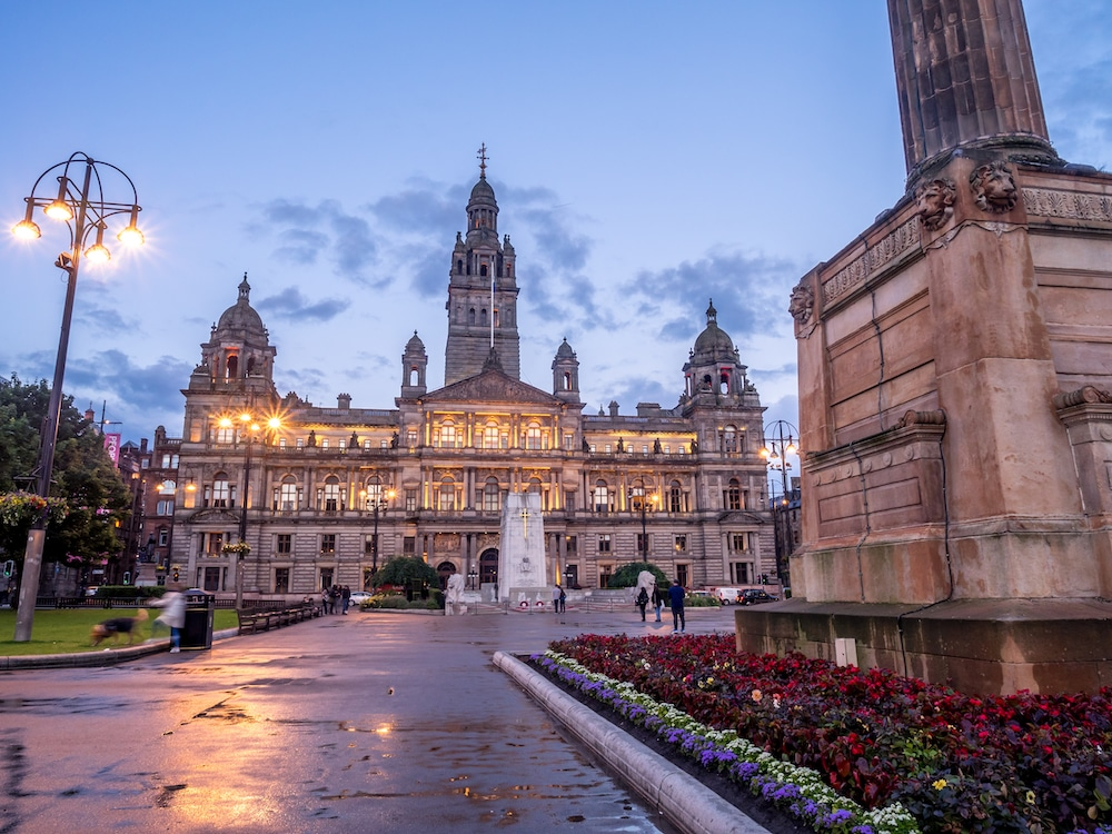 Glasgow's Gorgeous City Chambers Boast 'More Marble Than The Vatican'