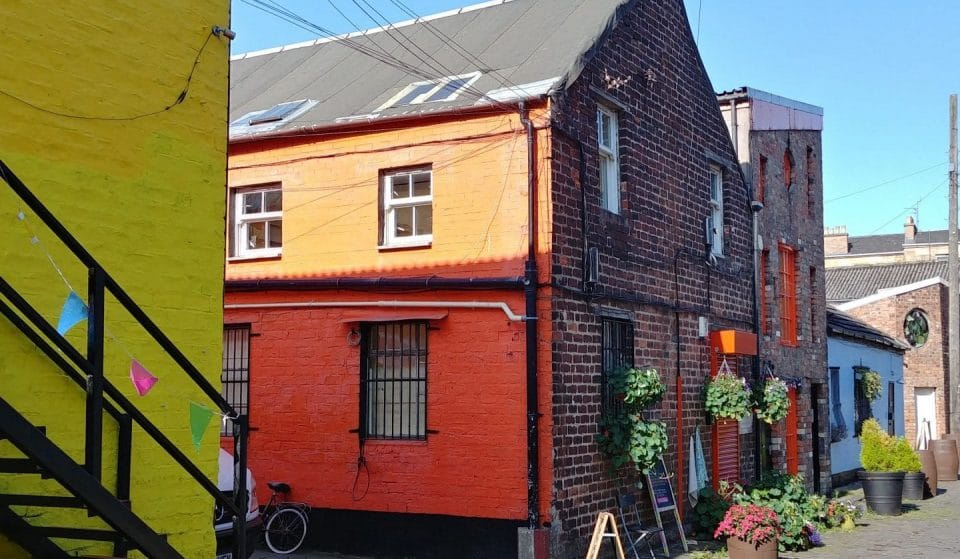 Here's What's Hidden Away In This Colourful Corner Of Finnieston •The Hidden Lane
