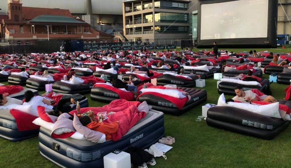 Glasgow Is Getting A BYOB Outdoor Cinema With Airbeds This Summer