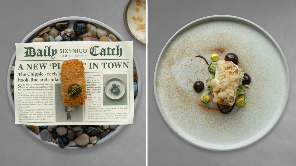 Six By Nico Is Re-Opening Next Week With A Creative 'Chippy Tea' Menu