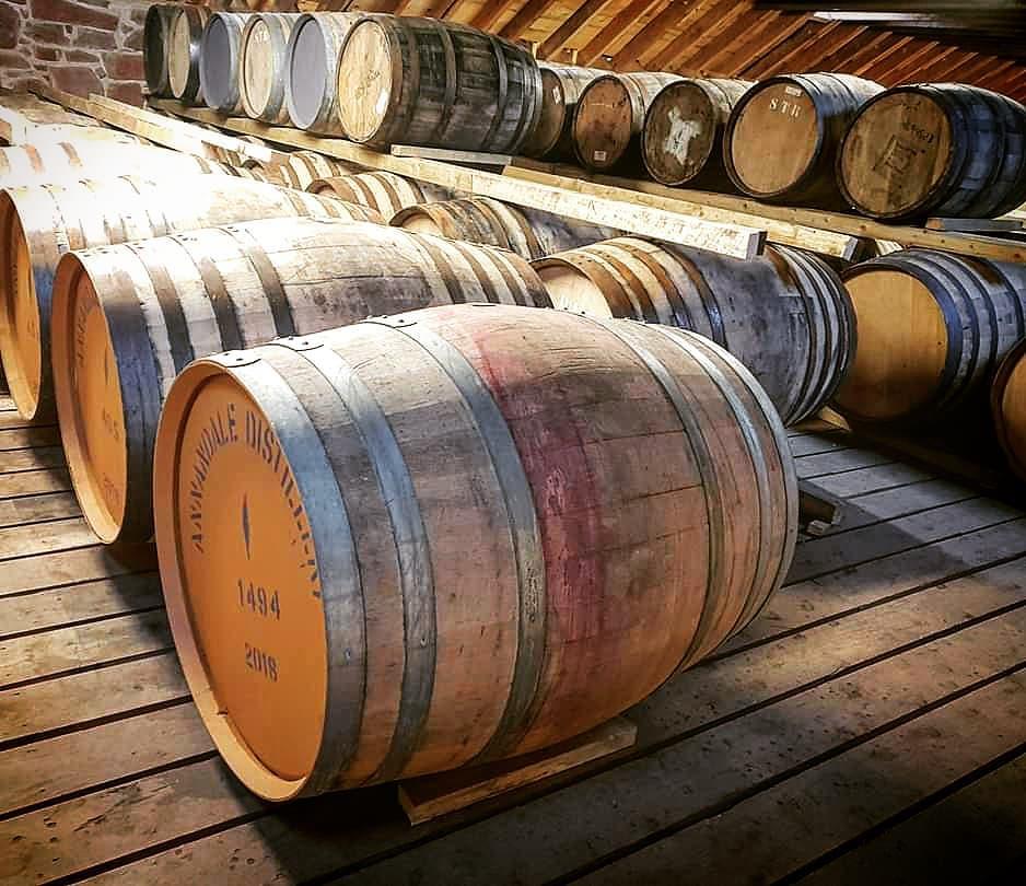 annandale distillery barrels of whisky