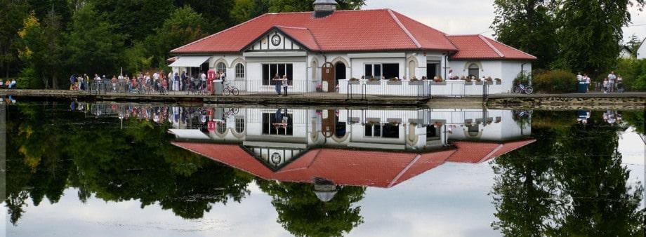 rouken glen the boathouse cafe