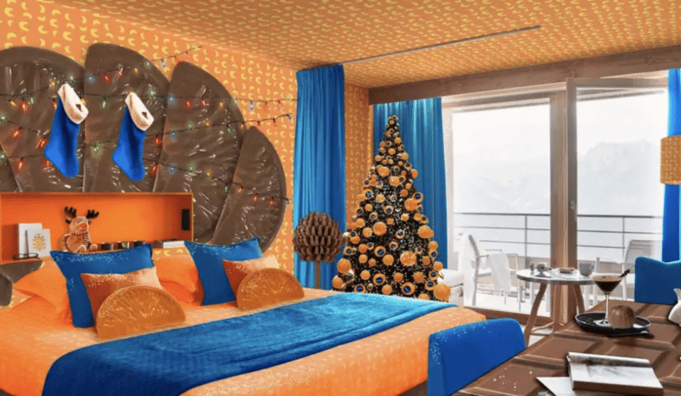 You Can Stay In A Chocolate Orange-Themed Hotel Room For Christmas
