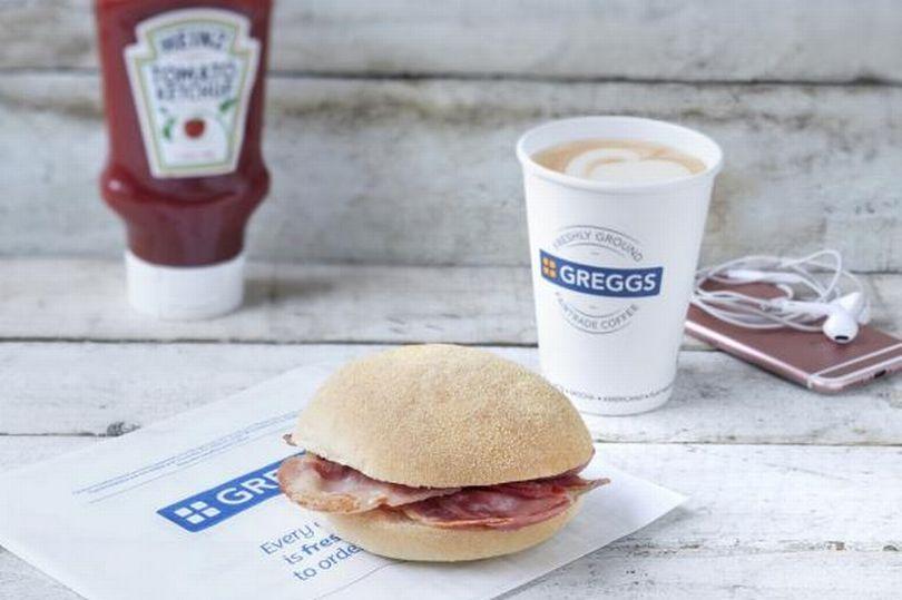 greggs free breakfast rolls