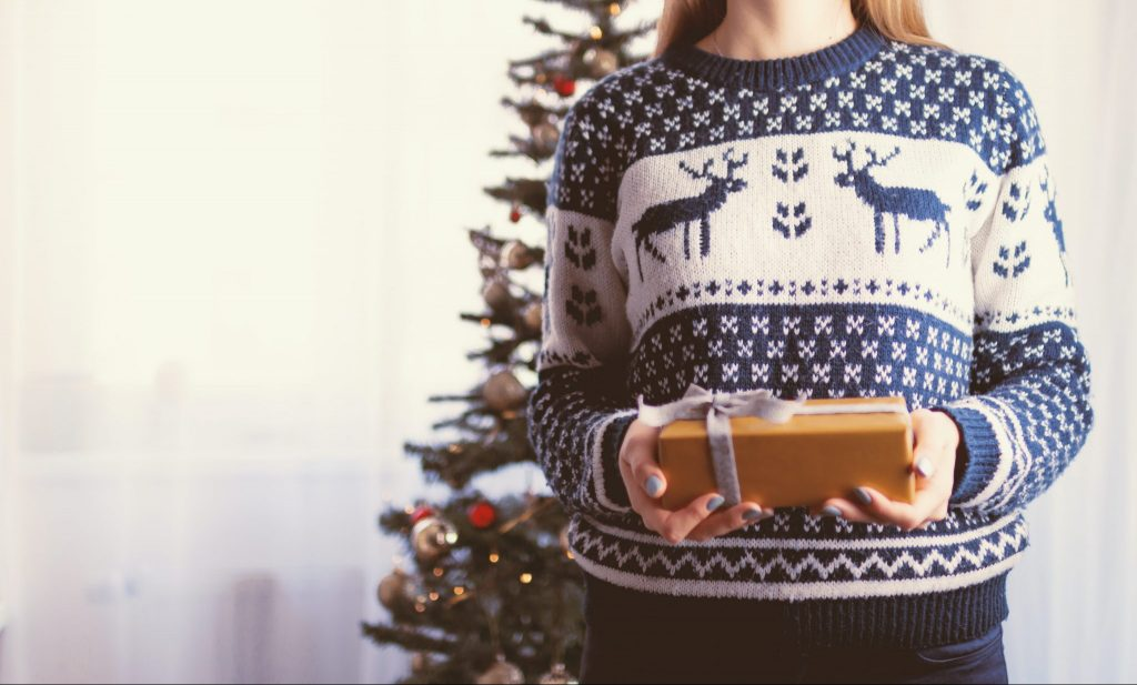 christmas on your own jumper