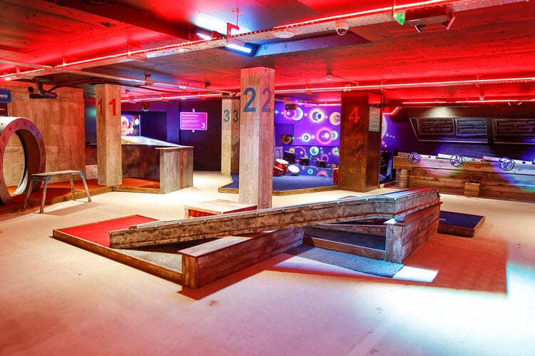 This Fun-Filled Bar With Axe Throwing, Crazy Golf And Beer Pong Is Coming To Glasgow