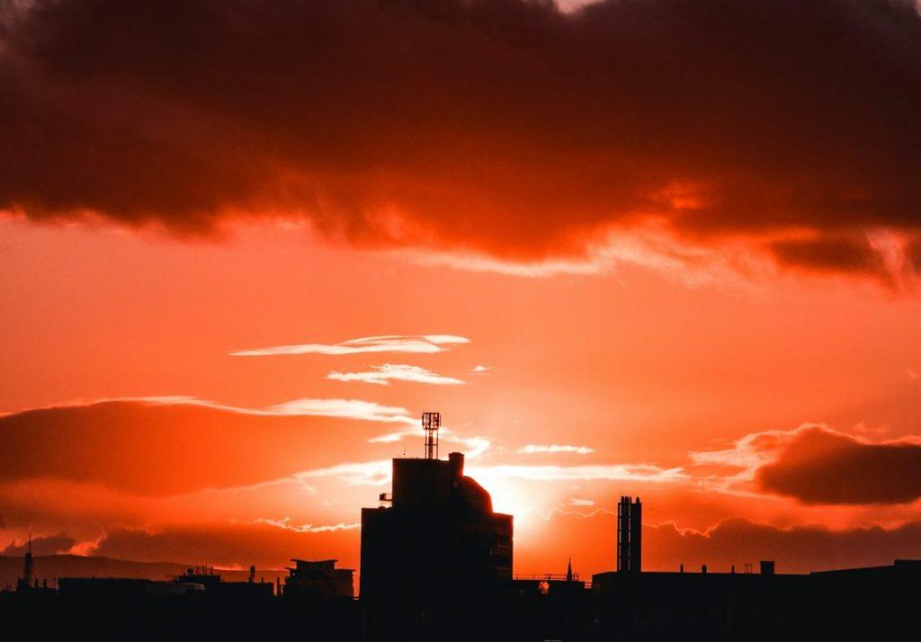 last 7pm sunset glasgow