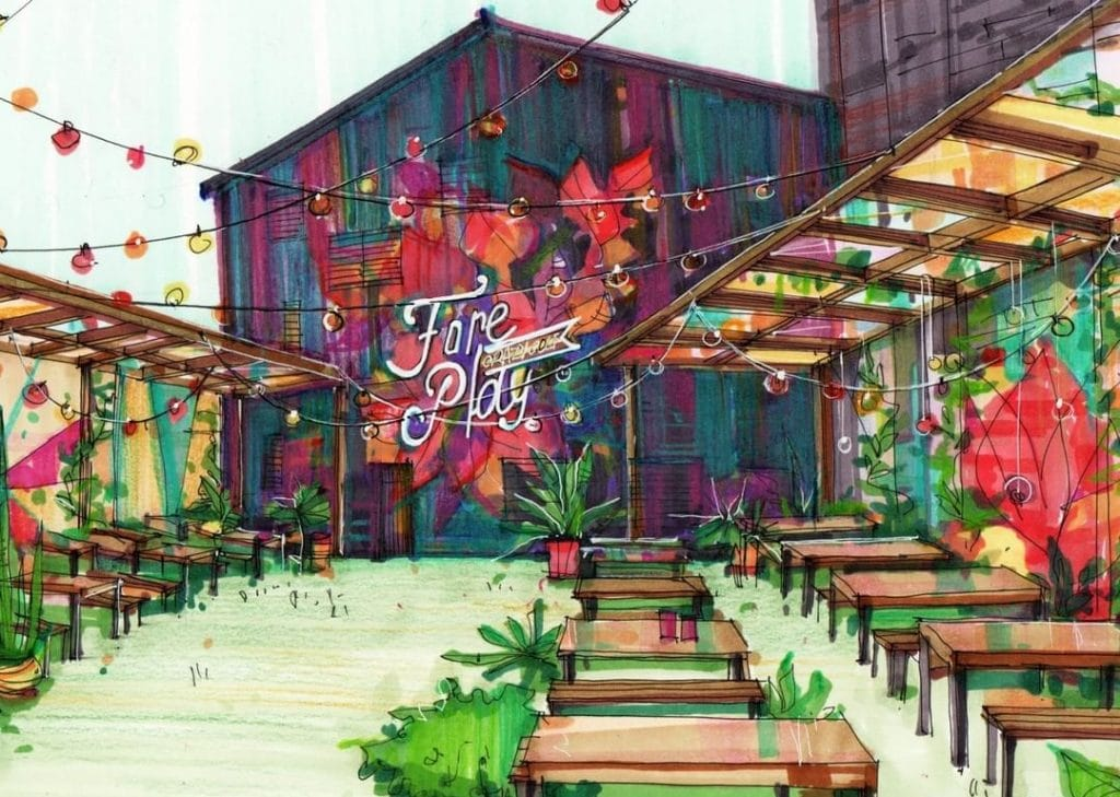 fore-play-carazy-golf-cocktail-garden