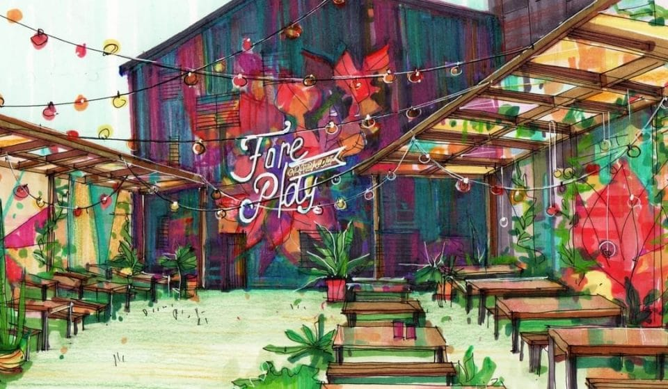 This Crazy Golf Site In Glasgow Is Returning This April With A Brand New Cocktail Garden