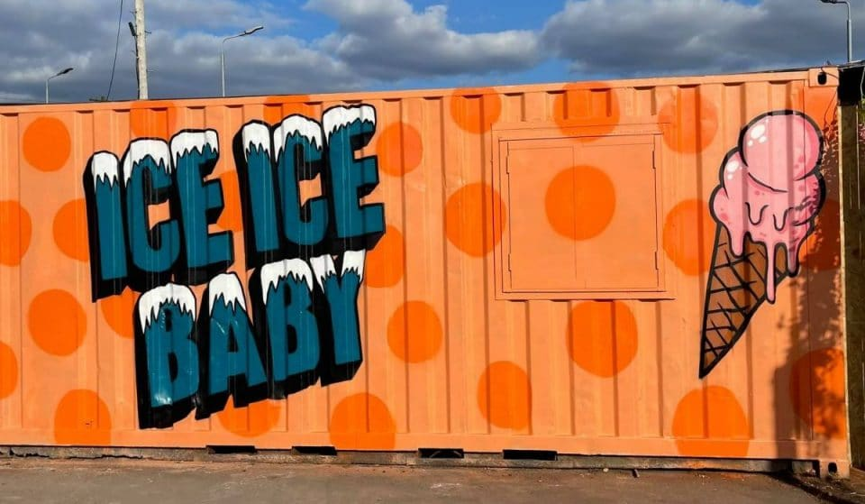 This Dreamy Drive-Thru Dessert Shop Serves Sundaes From A Glasgow Shipping Container