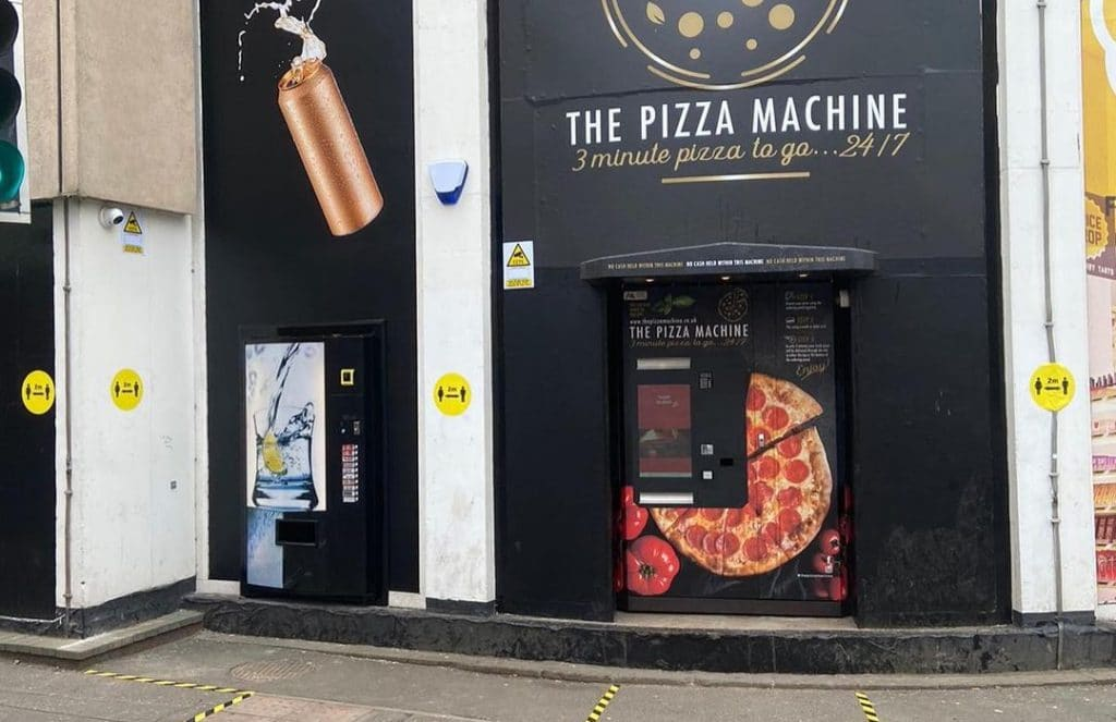 the pizza machine glasgow