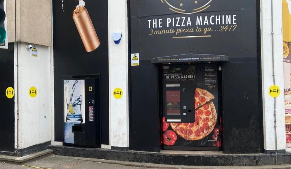 Scotland's First Ever Pizza Vending Machine In Glasgow Could Face Removal