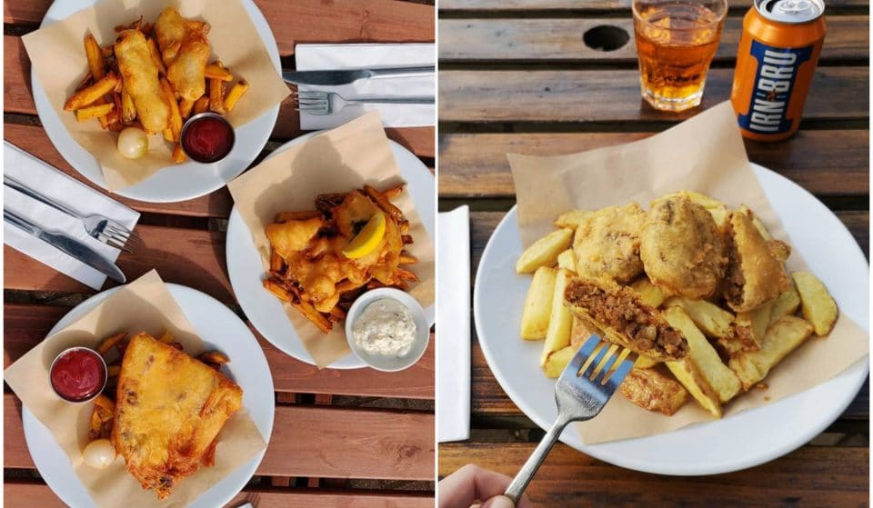 This Gorgeous Glasgow Restaurant Serves Delicious Vegan Fish And Chips • Mono