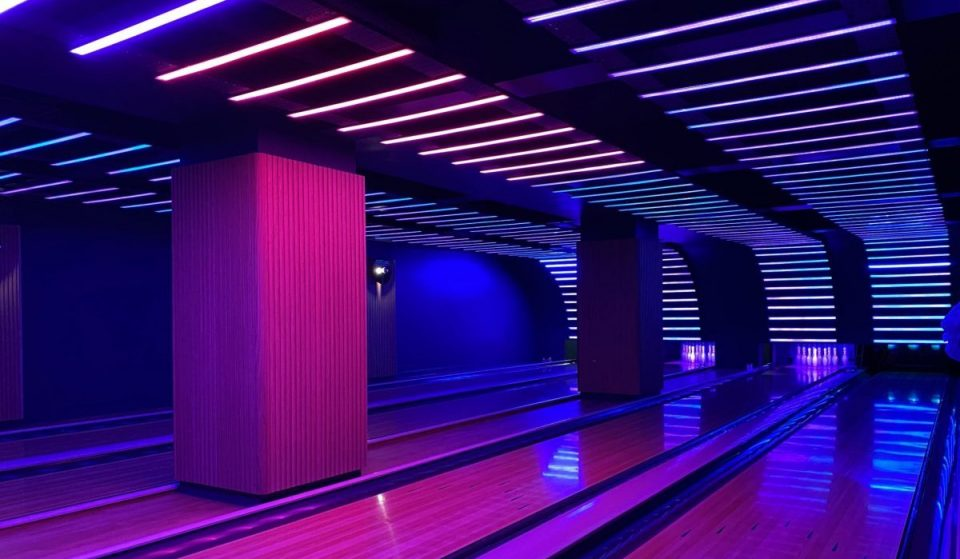 This Glasgow Hotel Has Now Opened A Space Age-Themed Rooftop Bar And Disco Bowling Alley