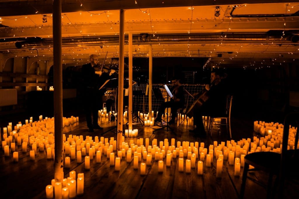 Candlelight concert jazz