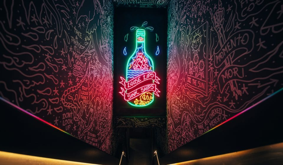 This New Nautical Bar Featuring Cocktails, Wings, Tattoo Street Art And Apparel Has Opened In Glasgow