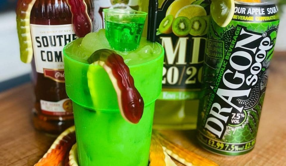 This Glasgow Bar Has Created A Shockingly Bright Green, Snake Venom-Themed Cocktail