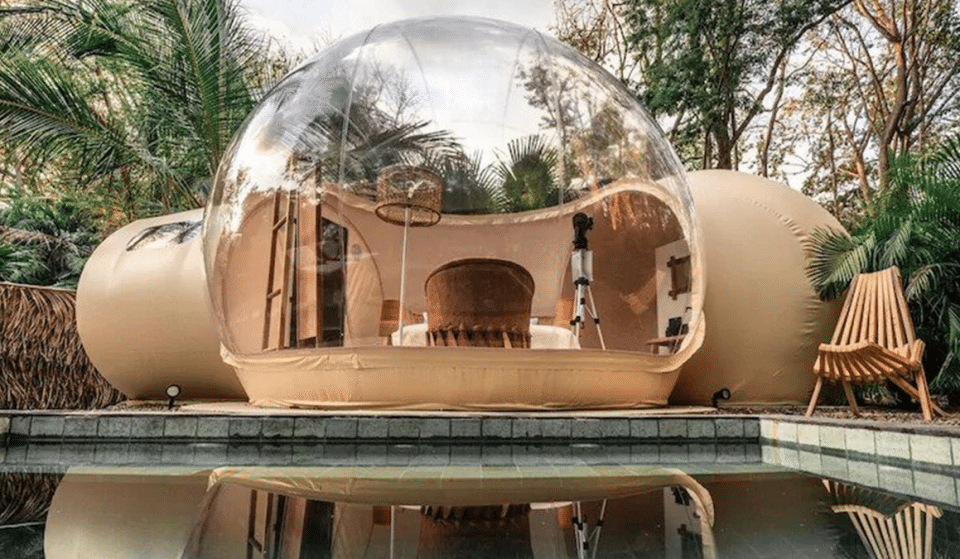 You Can Now Stay In Your Very Own Luxury Costa Rican Bubble With A Private Pool
