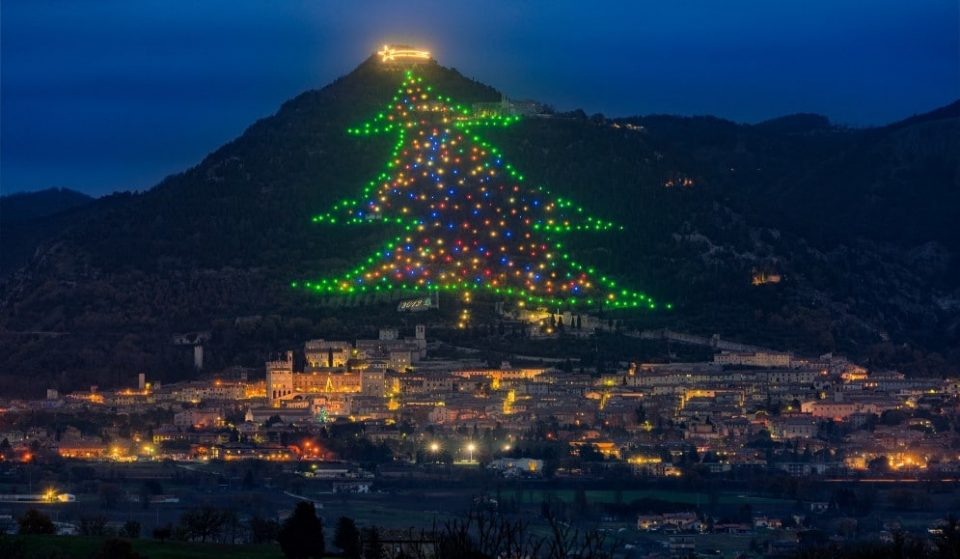 For The First Time, You Can Watch The World's Largest Christmas Tree Light Up Online