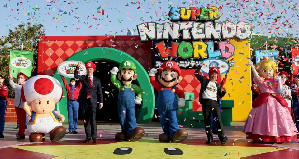 Super Nintendo World Japan – With Real Life Mario Kart – Has Officially Opened