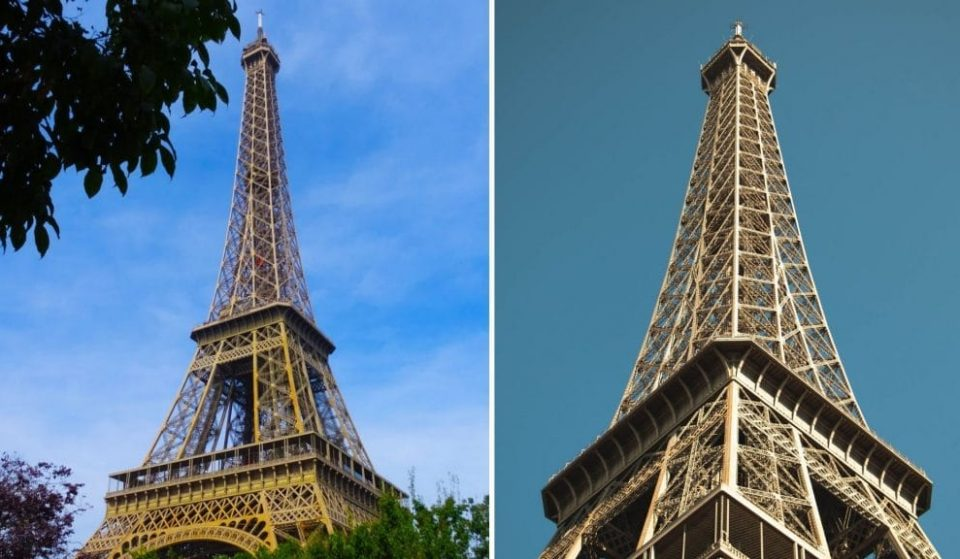 The Eiffel Tower Will Be Painted Gold For The 2024 Olympic Games