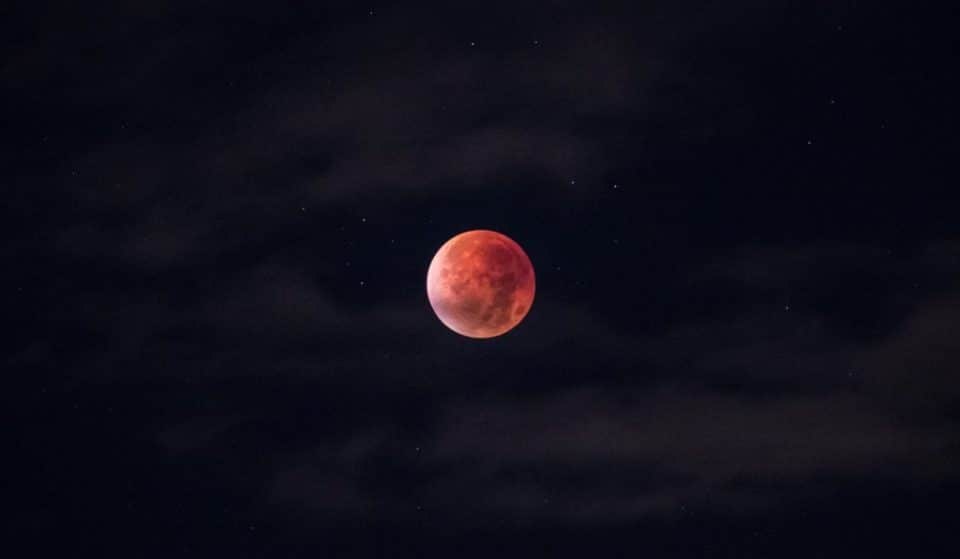 A Glorious Strawberry Supermoon Will Be Visible Across Australian Skies Tonight