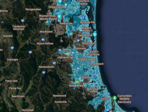 Use This Online Tool To See How Sea-Level Rise Affects The Gold Coast