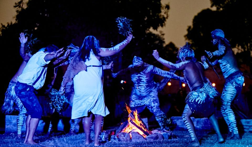 You Won't Experience A Live Immersive Indigenous Theatre Production Like This Dinner And Show Anywhere Else In The World