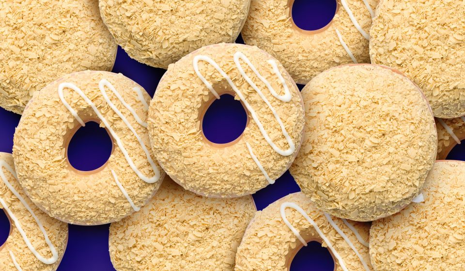 Sweet Caramilk Doughnuts From Krispy Kreme Are Here To Keep Your Day Golden