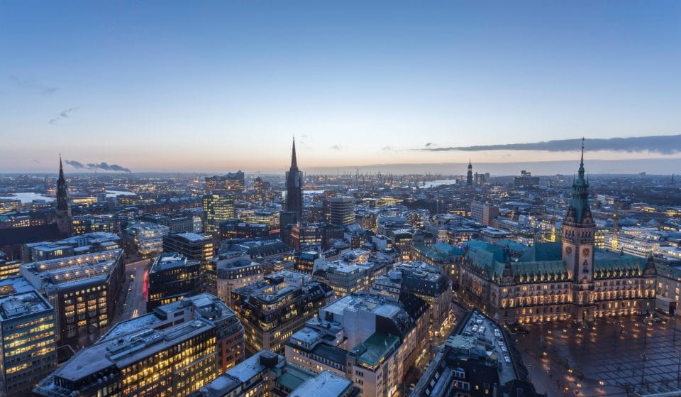 So sieht Hamburg im Lockdown aus