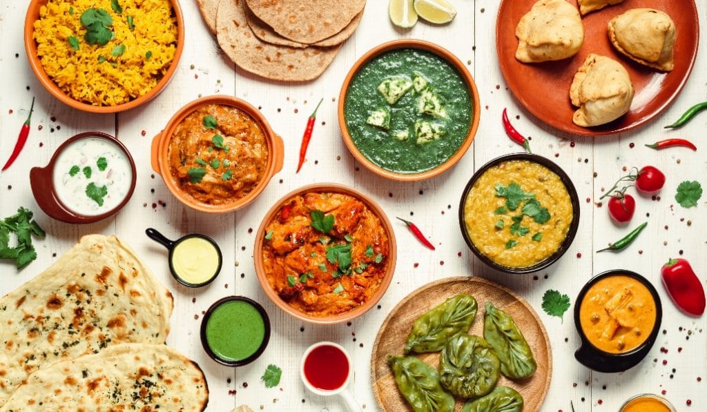 Die 4 besten Hamburger Inder für Zuhause