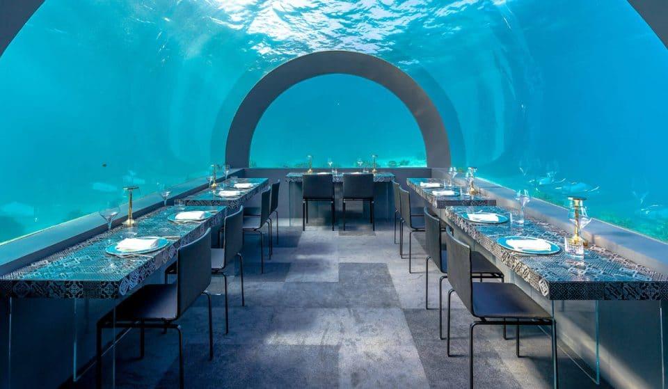 Diner unter Wasser? Jetzt ist es möglich!